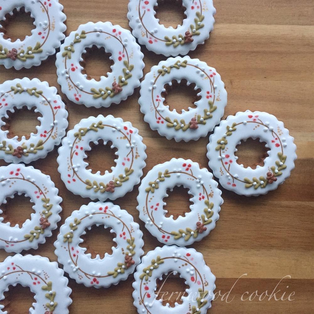 Gingerbread Wreaths