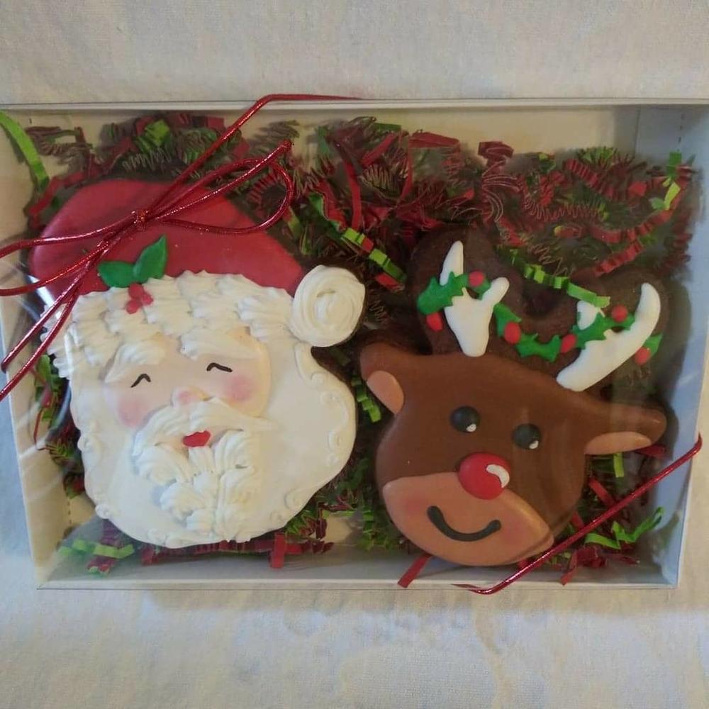 Santa and Rudolph!