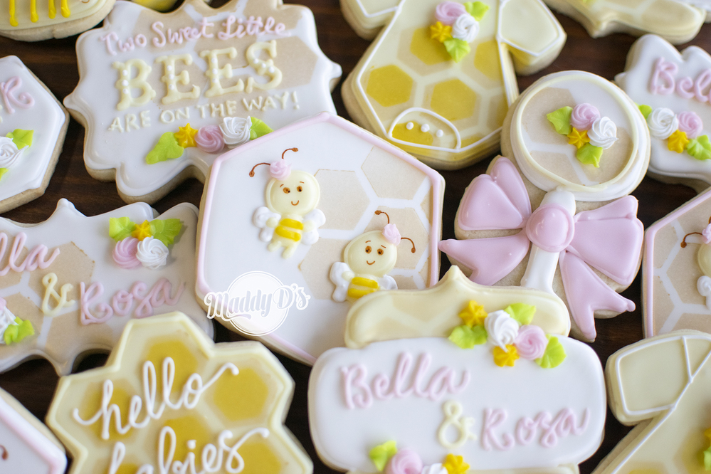 Bee Twins Baby Shower