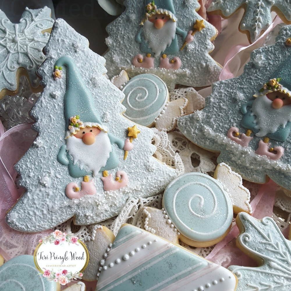 Pastel Gnomes and Christmas Candies