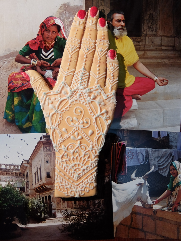 "Bride's Hand for ""Indian Culture Competition"""