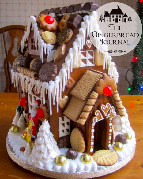 """From My Book """"A Year of Gingerbread Houses"""" 2014"""