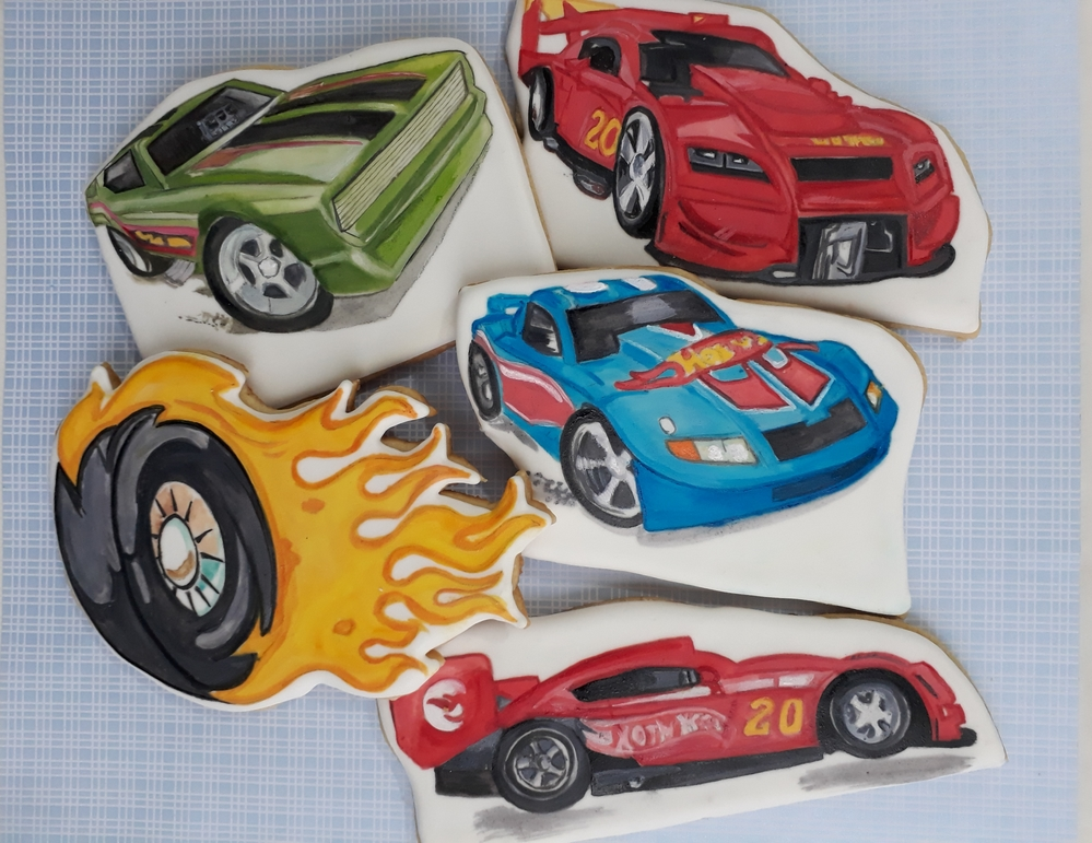 Hot Cars Cookies