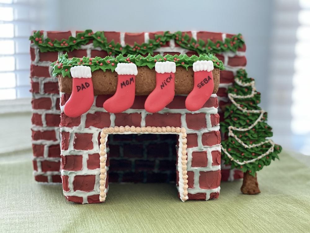 3-D Fireplace