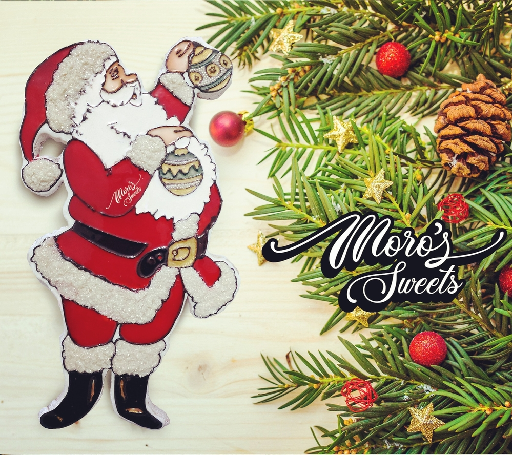 Santa Cookie by Moro's Sweets