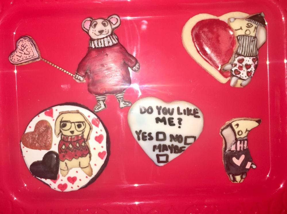 Valentine crew