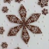 Embossed Snowflake Cookies