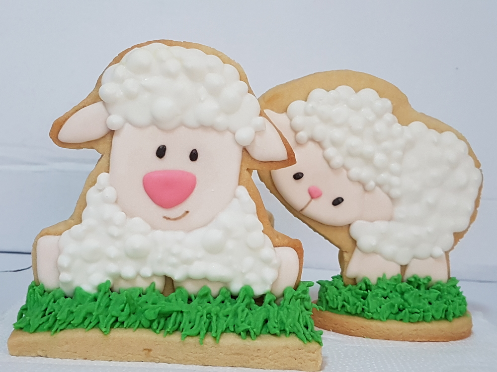 Sheeps for a Baby  Shower💚👶