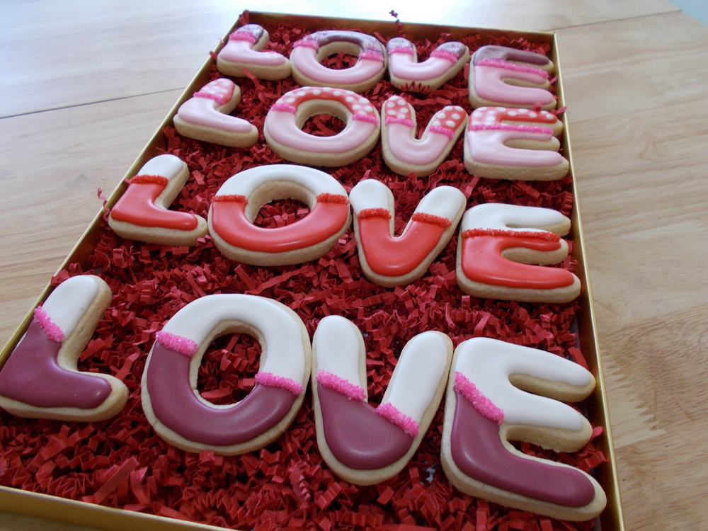 Simple Love Cookies