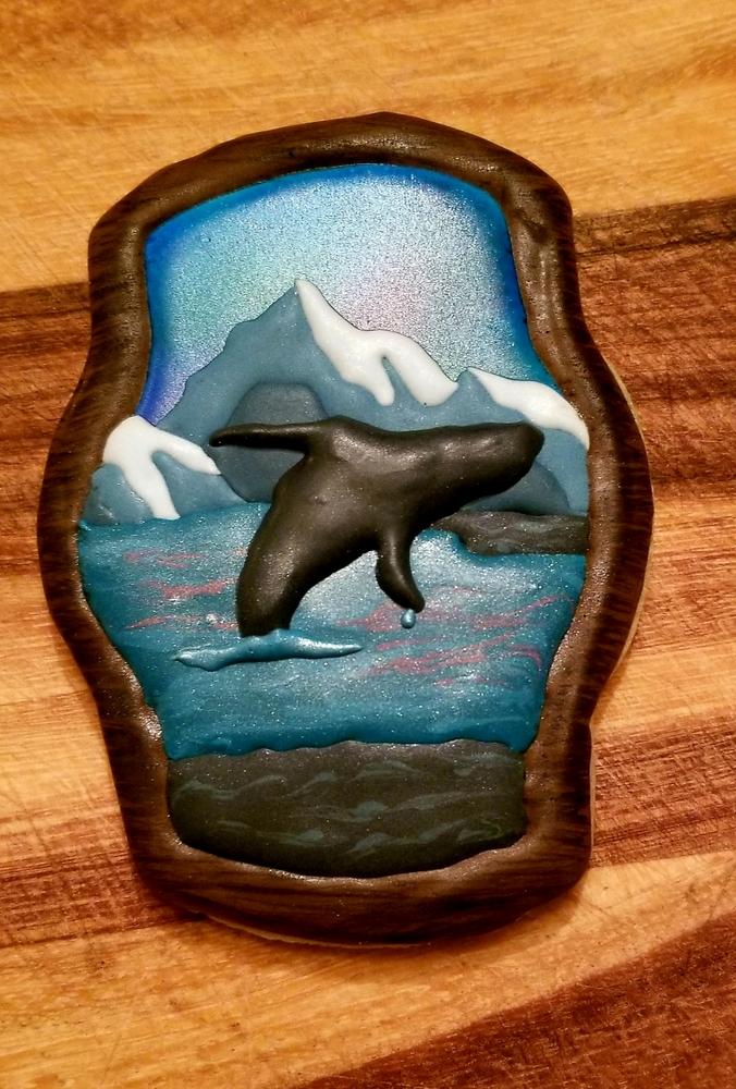 Alaskan Whale Breaching