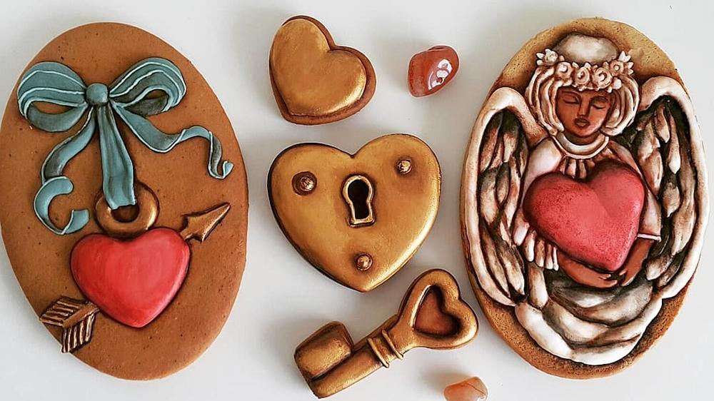 Valentín cookies