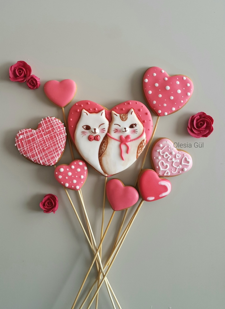 Cats and Hearts