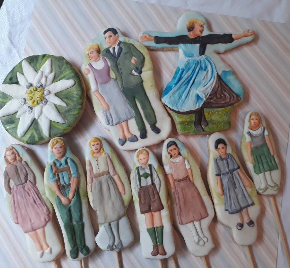 The Sound of Music Cookies