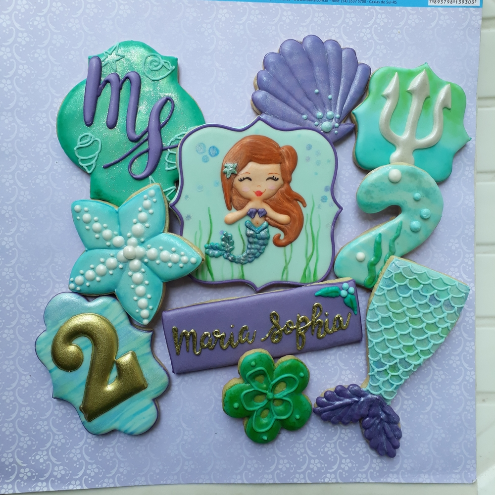 Cute Mermaid cookies