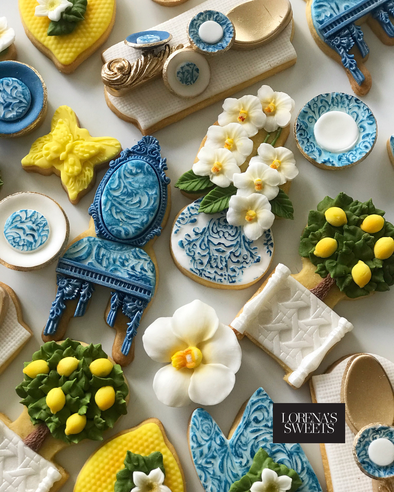 Lorena Rodríguez. Mother's Day cookies
