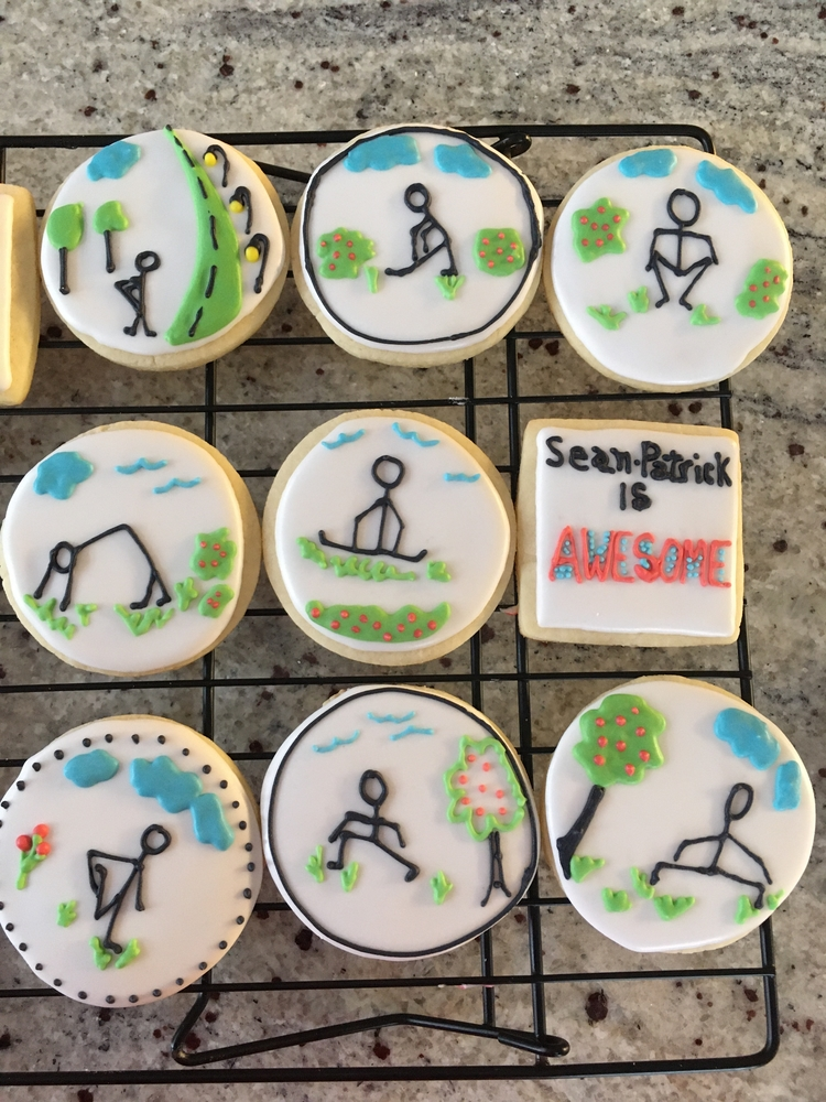 Motivation Cookies Leading Up to a 5km / 10 km Race