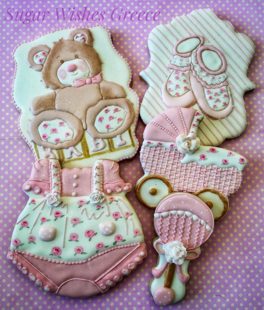 Pink Rose Baby Girl Set