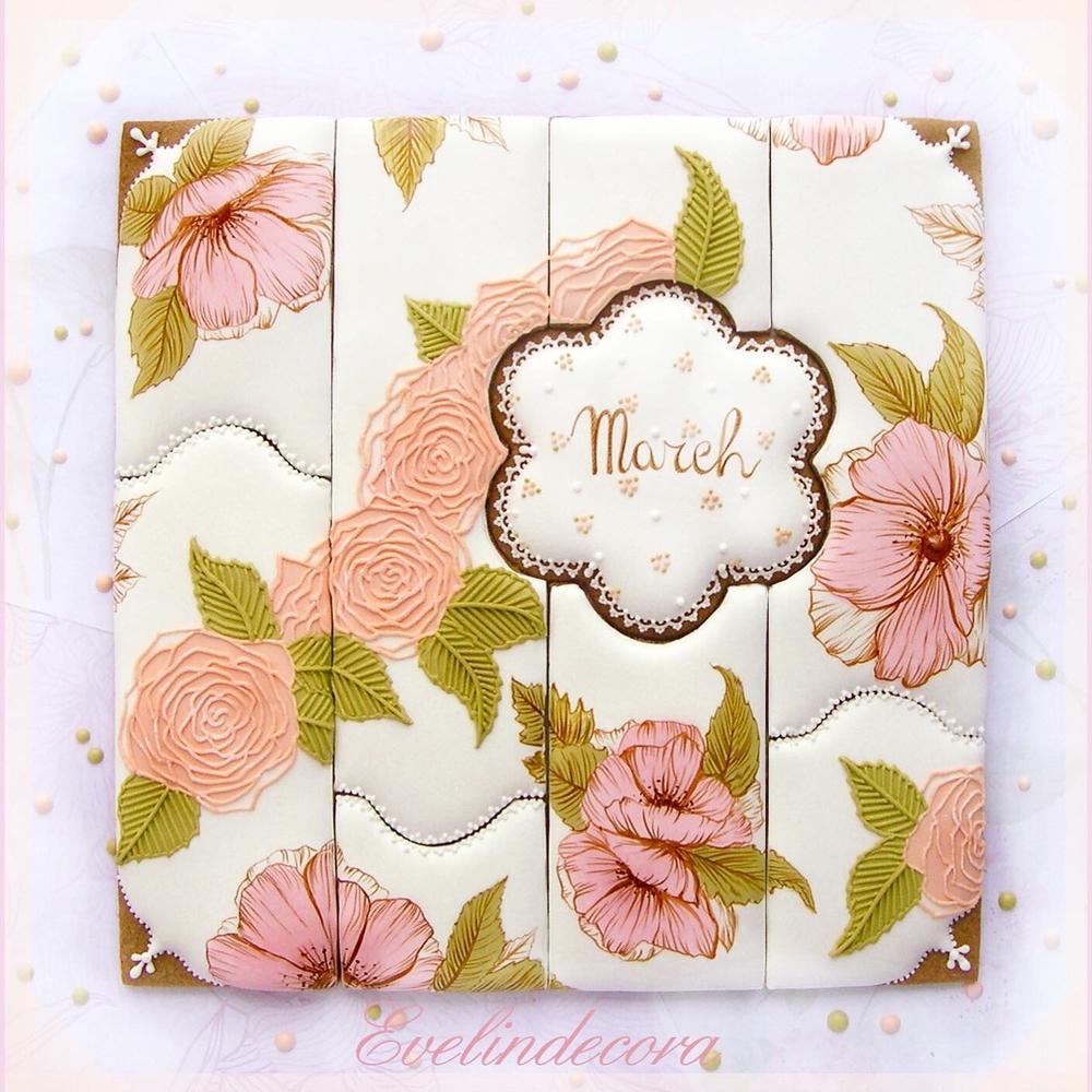 Floral Cookie Puzzle