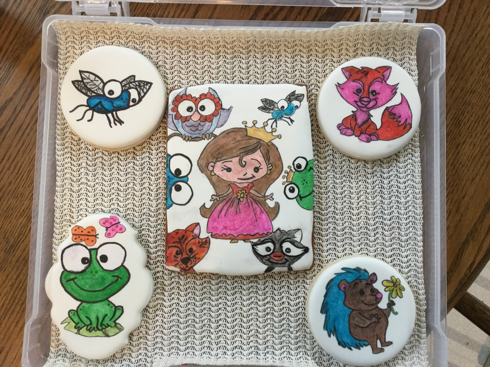 Finished Another Set of Pre-CookieCon Cookies
