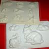 old Plastic molds: icingsugarkeks