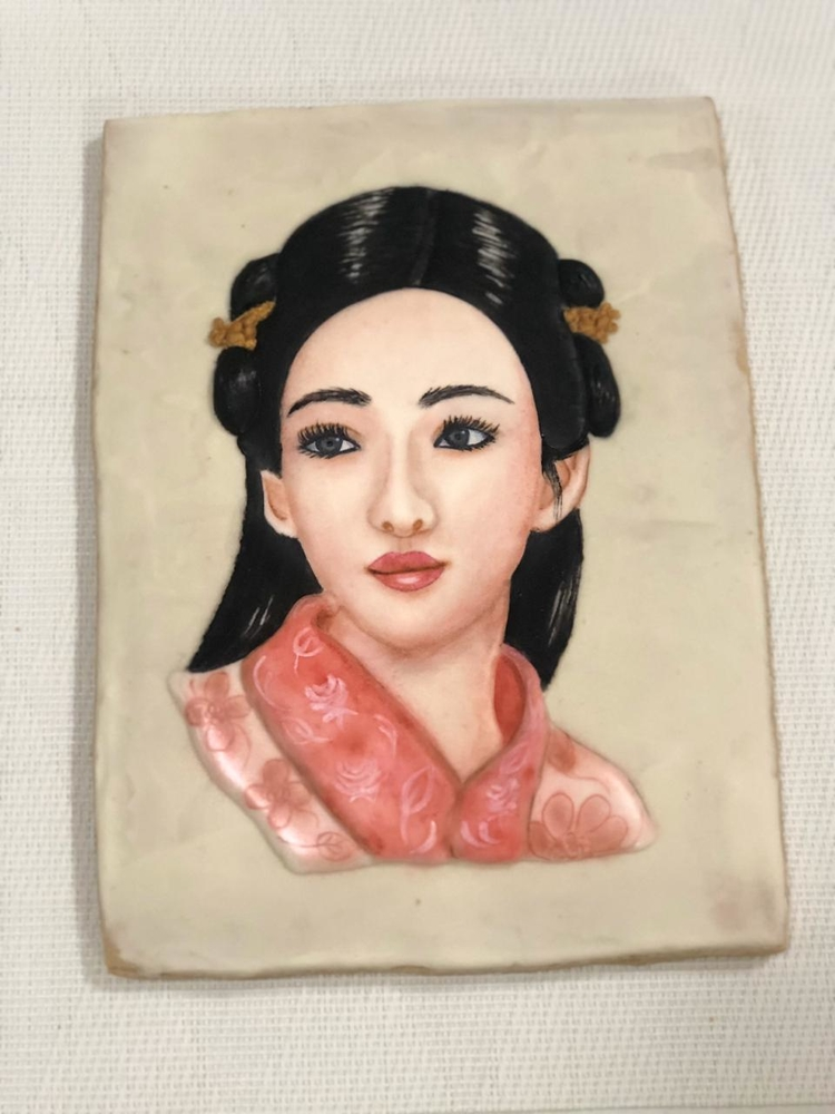 Chinese Girl Cookie