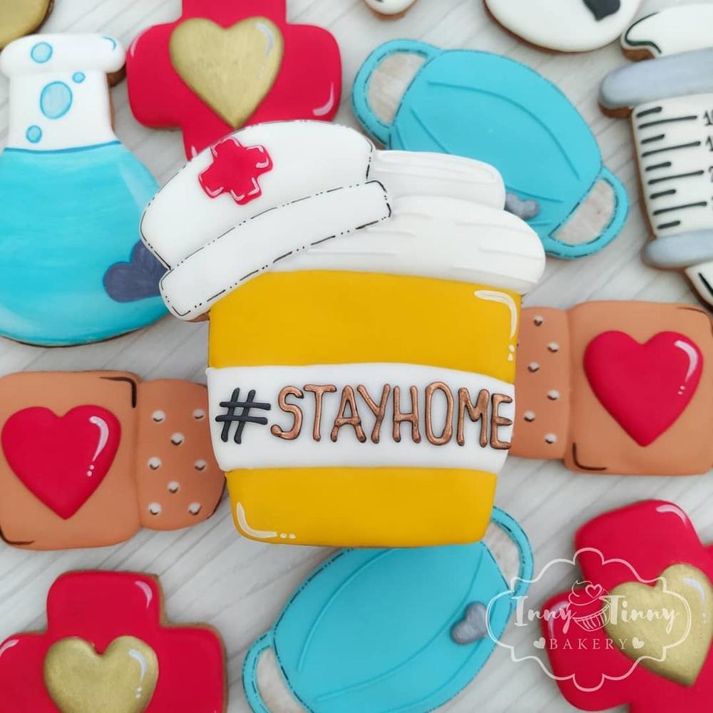 #StayHome Nurse Cup