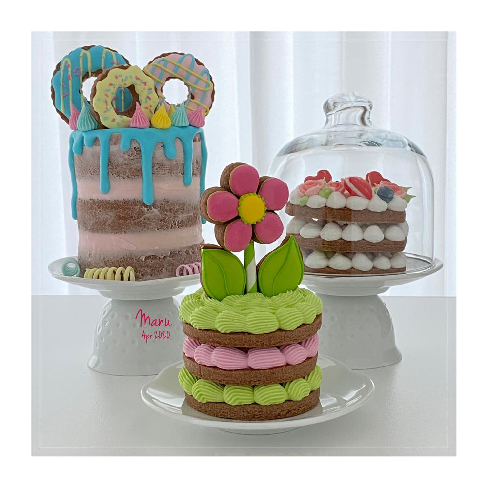 Mini Cake Cookies   Manu