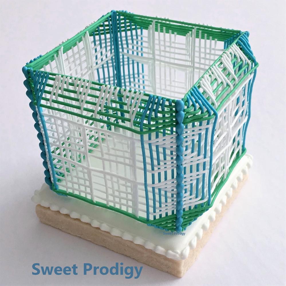 3D Printed Royal Icing Cube ?