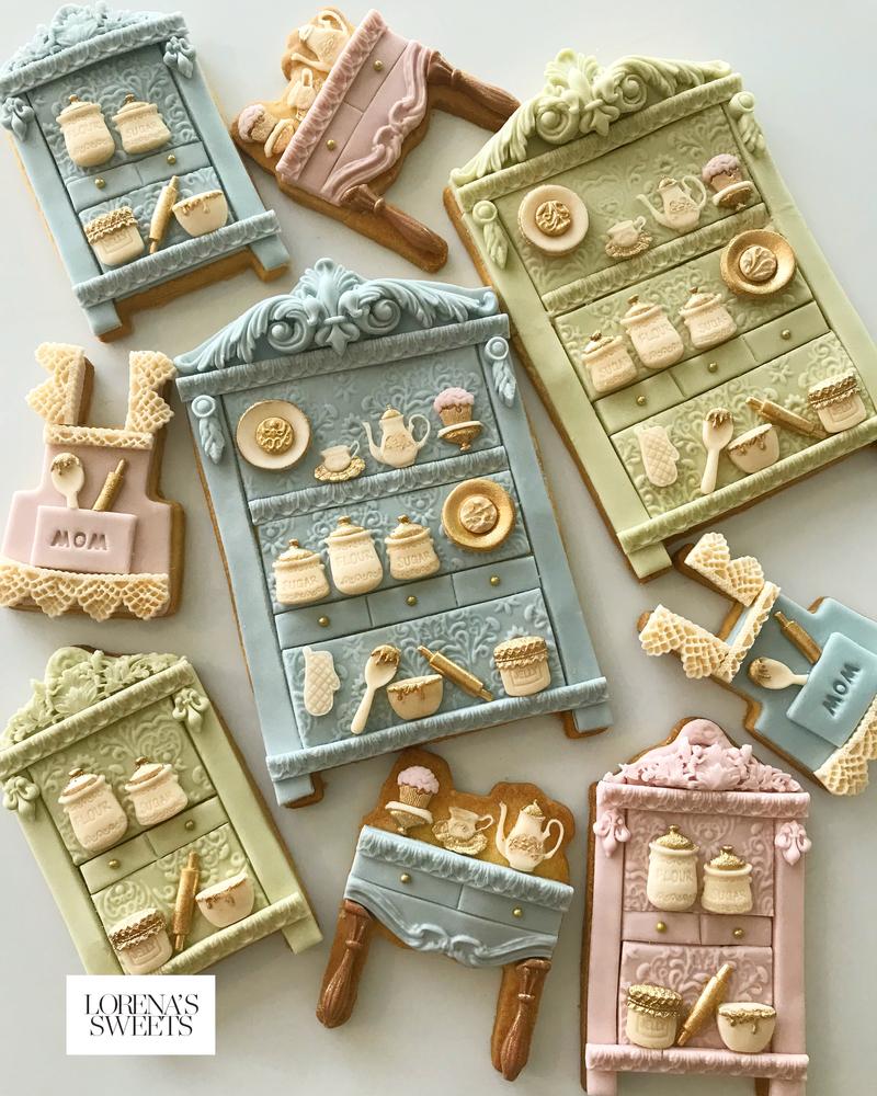 Lorena Rodríguez. Kitchen cabinet cookies