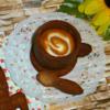 strudel coffee: icingsugarkeks