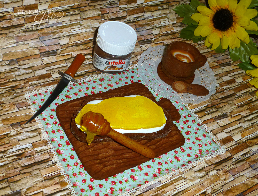 Honey Bread with Coffee (by icingsugarkeks)