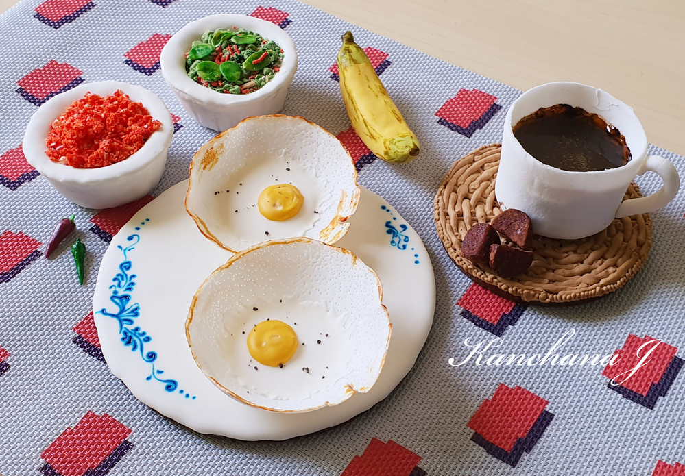 Sri Lankan Breakfast Hopper Meal