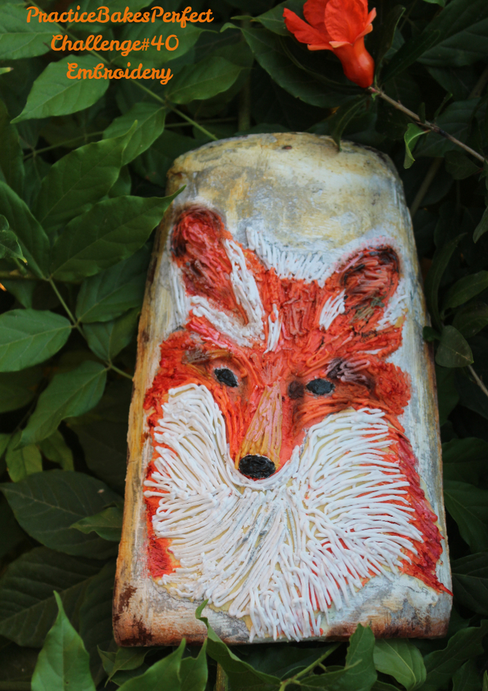 Fox on the Roof Tile
