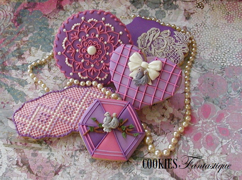 Lilac and Pink