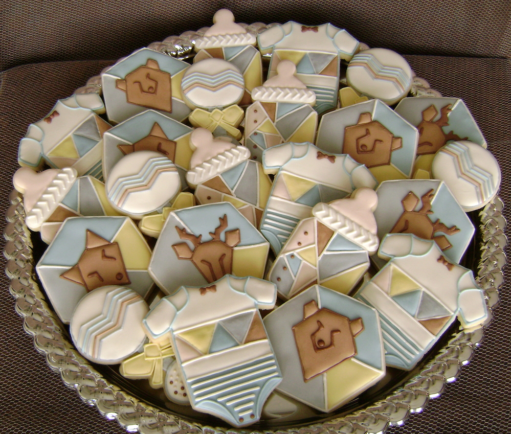 It's a Boy - Geometric Baby Shower