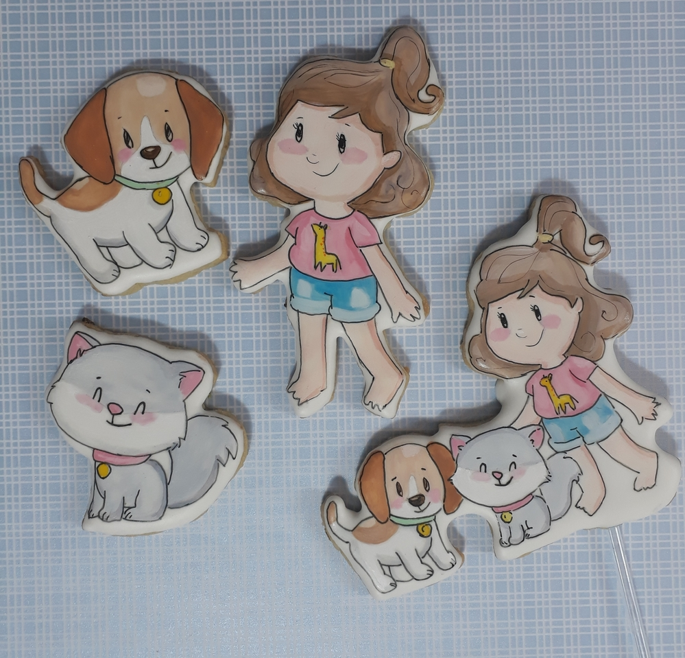 Painting in gouache Cookies