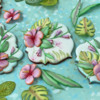 Summer Botanical Series: Hibiscus Cookie by Julia M Usher