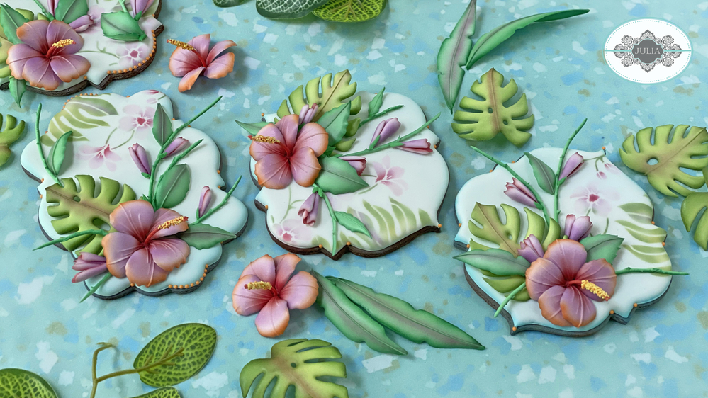 Hibiscus Cookies by Julia M Usher