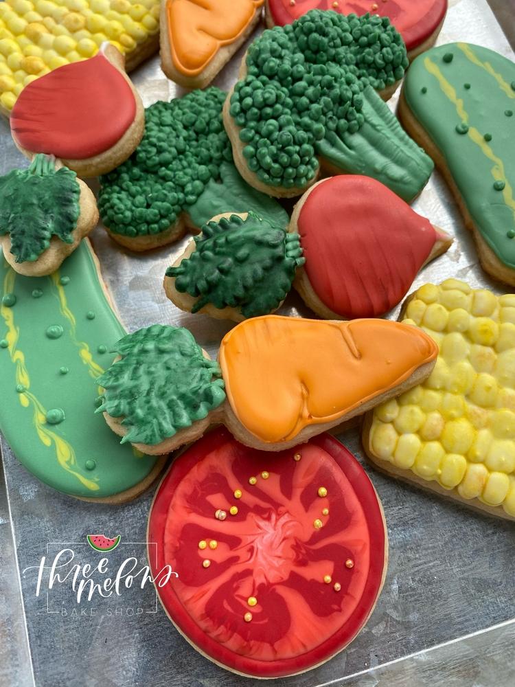 Three Melons Bake Shop - Veggie Cookies