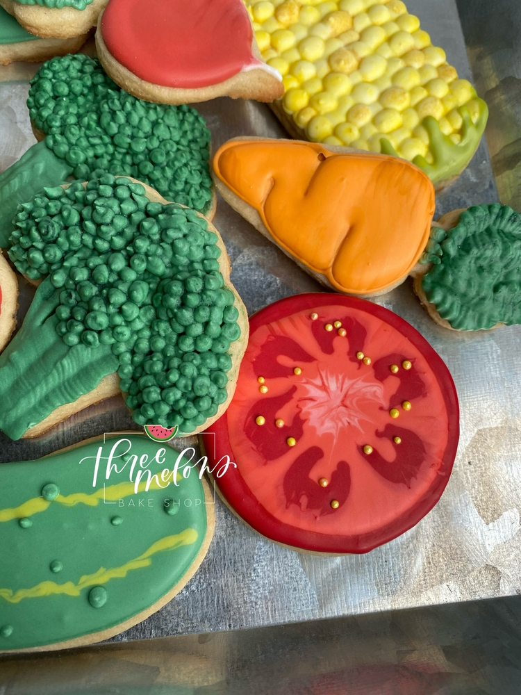Three Melons Bake Shop - Veggie Cookies