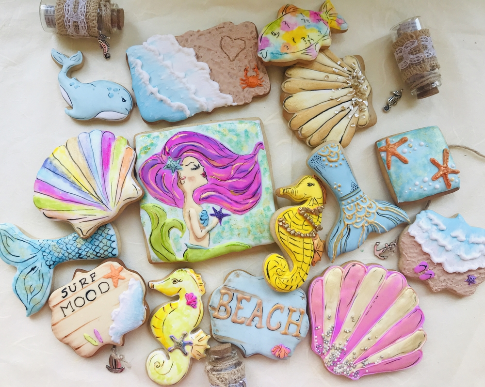 Summer Mood Cookies