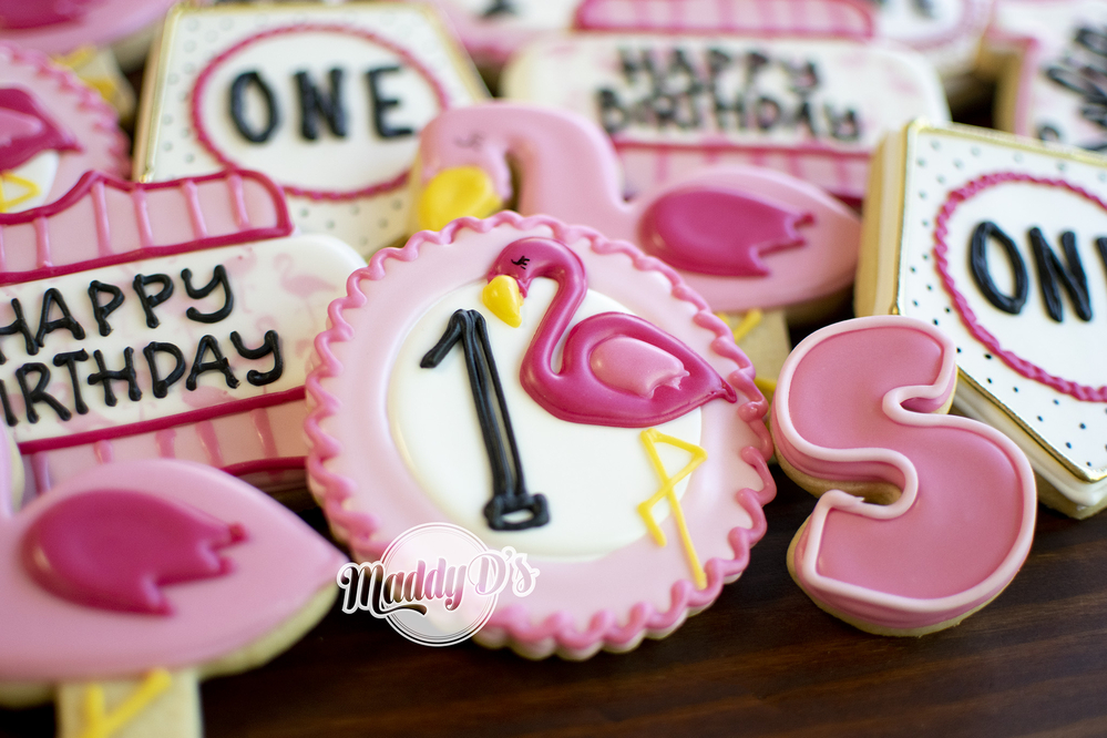 Flamingo 1st Birthday