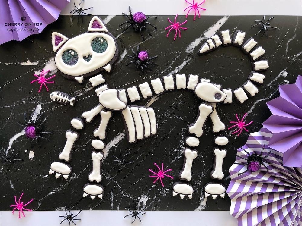 Skeleton Cat - Bare Bones Version