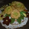 Chocolate marzipan arrangement 2: icingsugarkeks
