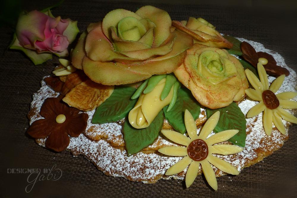 Chocolate Marzipan Arrangement