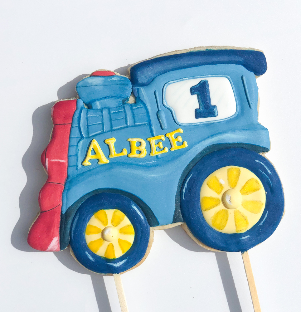 Favourite Train Cake Topper