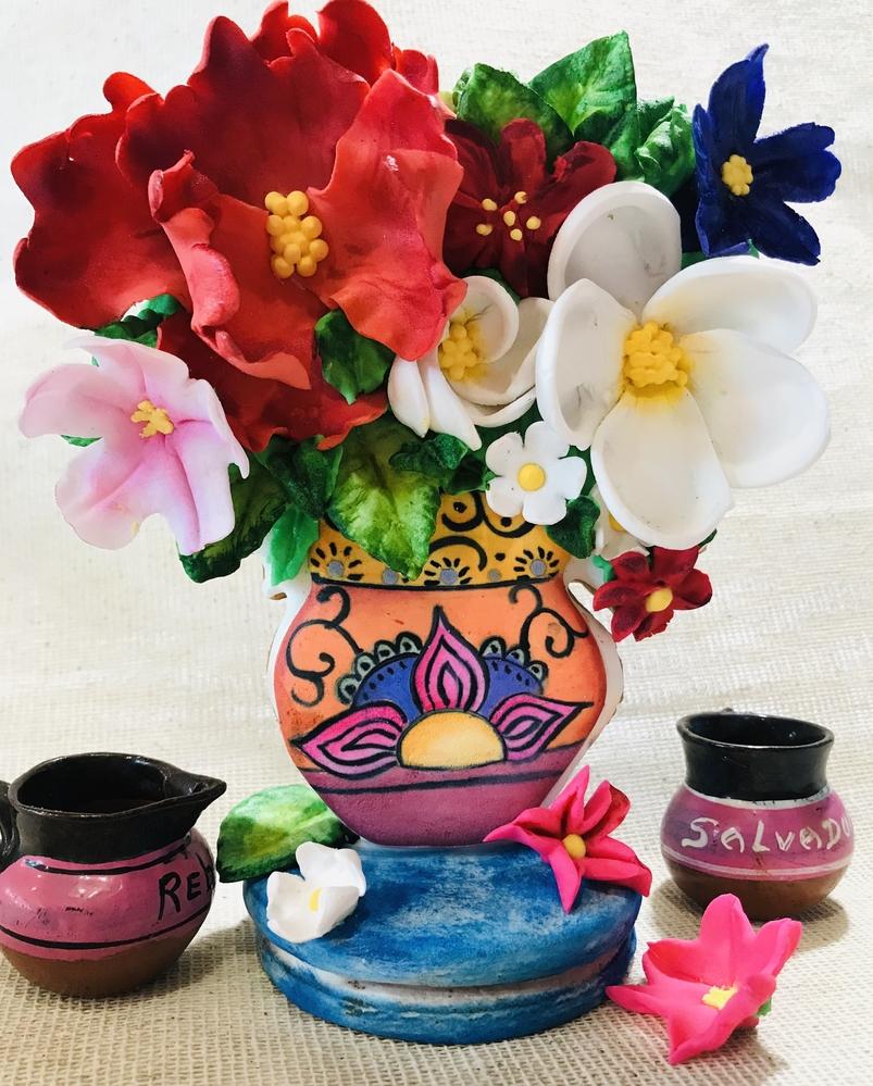 Florero, Artesanía Mexicana