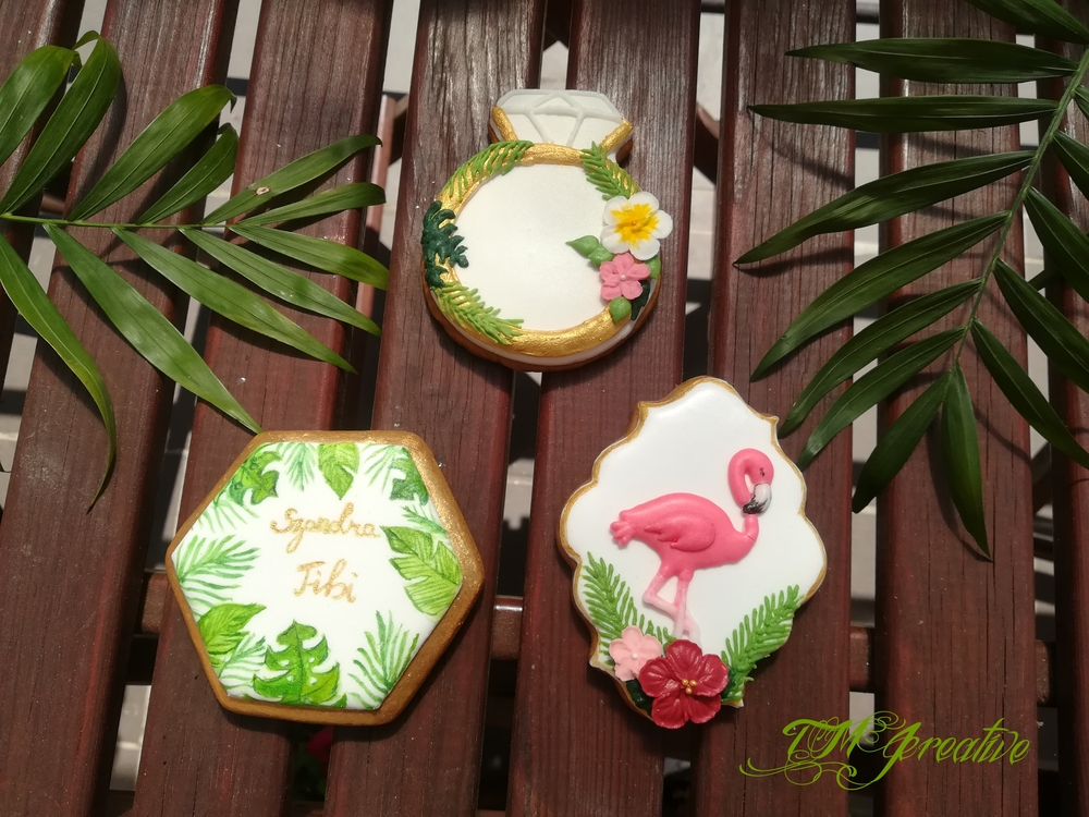 Tropical Wedding Cookies Part 2 by TMJcreative