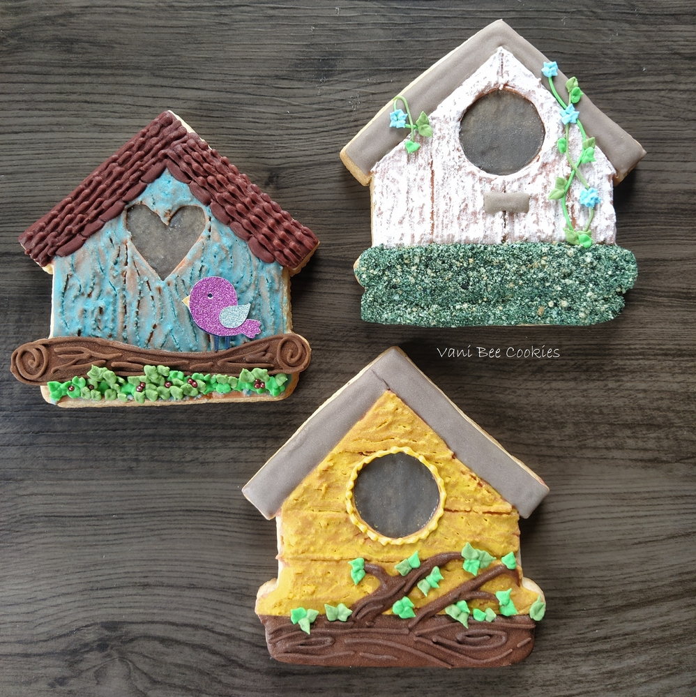 Birdhouse Sugar Cookies