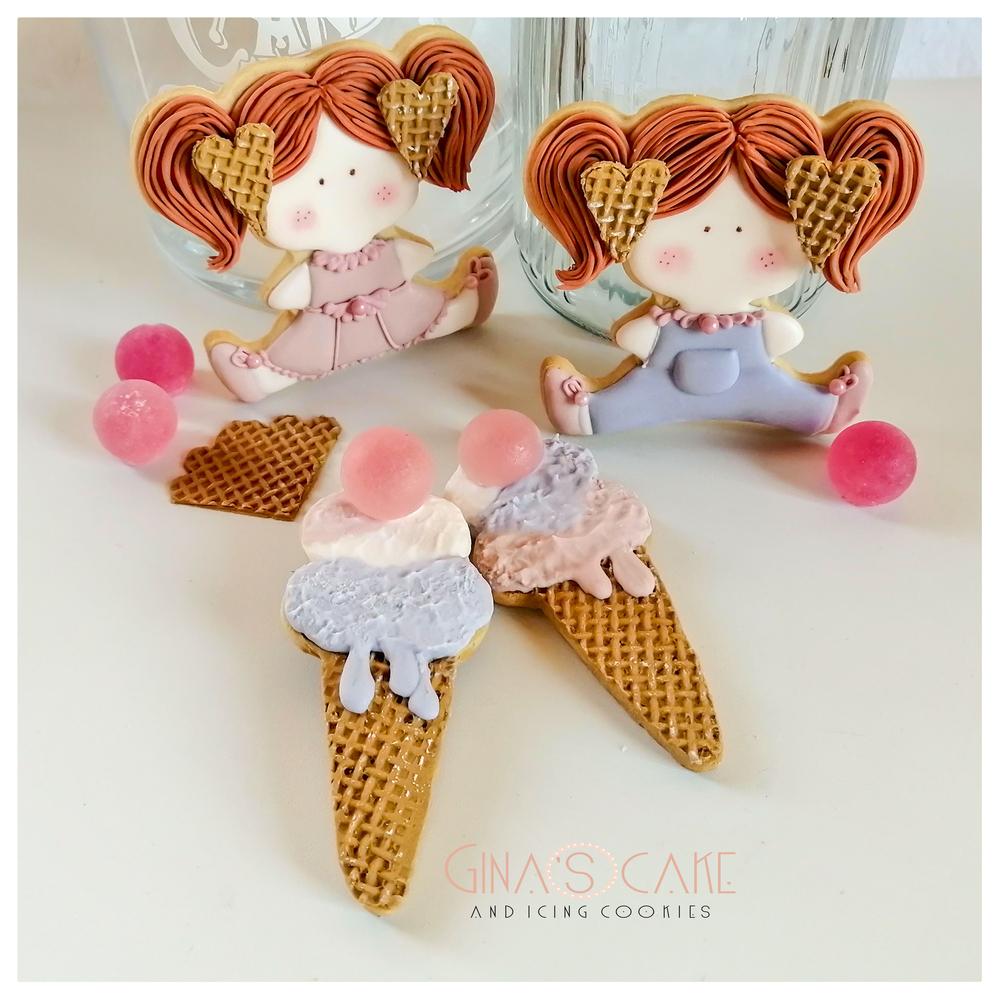 Wafer Cookie Dolls